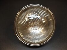 "VINTAGE HARLEY DAVIDSON 8"" HONDA CHROME HEADLIGHT/LAMP ASSEMBLY HM-27M-5 (F)"