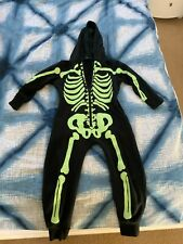George Boy Halloween Glow in the Dark All in One size 4-5 yrs