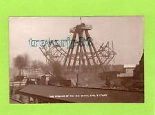 More details for remains of big wheel earl's court  london fairground rp pc used 1907ref c134