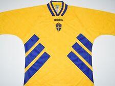 1994-1996 SWEDEN ADIDAS HOME FOOTBALL SHIRT (SIZE XL)