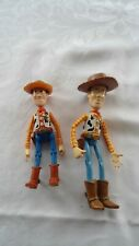 "Disney Toy Story Woody Figures, 7""& 6"" Iconic Design, Bright Colors, Posable"