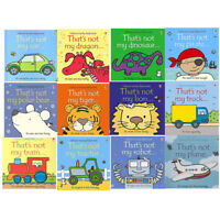 That's not my touchy feely series Car Plane Tractor Robot 12 books collection