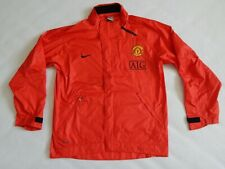 MANCHESTER UNITED FOOTBALL TRAINING JACKET ,MENS SMALL