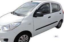 HYUNDAI I10 2008 - 2013 Front wind deflectors 5 door 2pc set TINTED HEKO