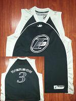 4ddb920f15f Vtg Allen Iverson  3 The Answer NBA Jersey Reebok Philadelphia 76ERS Sz 2XL  Blac