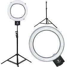 "Diva Ring Light Nebula 18"" LED Dimmable Photo/Video Ring Light w/ 6' Light Stand"