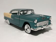 1955 CHEV BEL AIR  1:24 scale model toy diecast die-cast car chevrolet grn