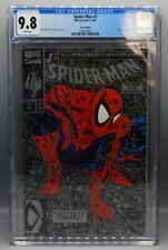CGC 9.8 Marvel Comics SPIDER MAN #1 Silver Edition TODD MCFARLANE cover & art !!