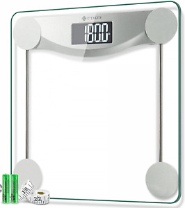 Etekcity Digital Body Weight Bathroom Scale, 440 Pounds, 6Mm Tempered Glass Plat