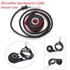 For M3 Digital Odometer Equipment 1x Motorbike Speedometer Cable Sensor Case