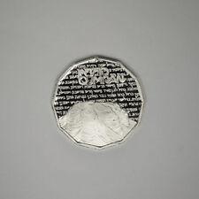 1982 Israel  Silver Proof 1 Shekel-Holyland Sites-Qumran caves-Dead Sea Scrolls