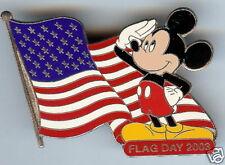 Disney MICKEY Flag Day 2003 Jumbo Silver Prototype LE4