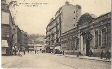 Le Havre la banque de france et la rue thiers   76