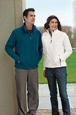 4 New Fleece FullZip Jackets EmbroideredFree4Ur Company W BackDesign &Front logo
