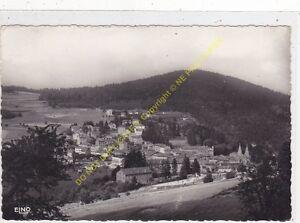 CPSM 07520 LA LOUVESC Paysage sur la ville & Mont Blanc Edit MARGERIT BREMOND