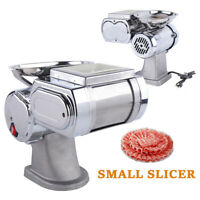 Commercial Electric Meat Slicer Meat Cutter Cutting Machine Stainless Steel 110V