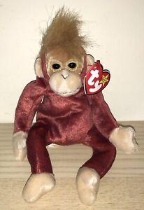 BNWT! TY Beanie Baby Schweetheart The Orangutan DOB January 23rd 1999