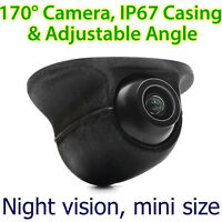 New Car Front Side View Forward Camera Colour Parking Night Mode Mini 170 Degree