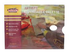 "ARTIST 12"" x 9""  DISPOSABLE WAXED PAPER PALETTE PAD OIL & ACRYLIC PAINTS PP912"
