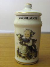 Hummel Knoblauch Gewürzdose Goebel Kräuter Göbel Porzellan Dose  Sammeldose