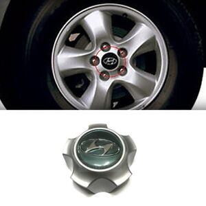 OEM Genuine Wheel Hubcap Center Caps 1P for HYUNDAI 2001 2002-2005 Santa Fe SM