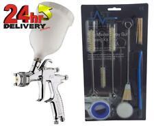 Devilbiss Flg 5 20mm Paint Air Spray Gun 13 Piece Cleaning Kit