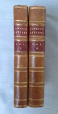 Junius's Letters 1772 First Edition Absolutely Rare