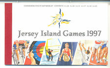 Jersey-1997 Island Games Booklet(below face)mnh