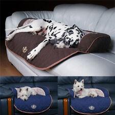 Couchage, paniers et corbeilles noirs en polyester pour chien