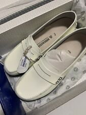 Birkenstock 42 Loafers white Patent