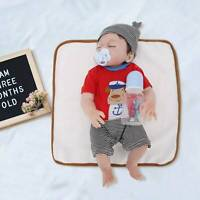 "20"" Real Life Reborn Baby Dolls Full Body Vinyl Silicone Newborn Doll Boy Gift"