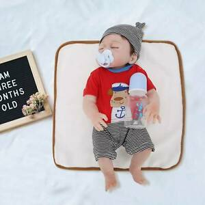 "20"" Real Life Reborn Baby Dolls Full Body Vinyl Silicone Newborn Doll Boy Gift"
