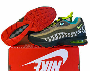 Nike Air Max 95 GS Monster Dinosaur Green Shoes CI9943-300 Size 5y /6.5w No Lid