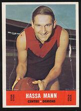 1969 Scanlens Die Cut Melbourne Hassa Mann unpopped Card r