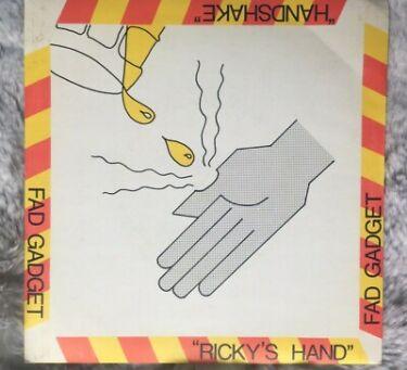 Rickys Hand Fad Gadget 7 vinyl single record UK MUTE006 A1B1 ExEx 1980
