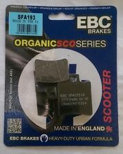 Piaggio NRG 50 MC3 (2001 to 2005) EBC Organic FRONT Disc Brake Pads (SFA193)