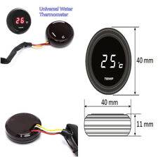 Red LED Motorcycle Thermometer Instruments Water Temp Temperature Guage -10~+60°