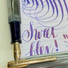 Waterman Vintage flex 14k XF to BBB Canada 2a fountain pen