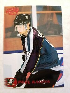 1998-99 Pacific RED Anaheim Ducks Paul Kariya Card #9