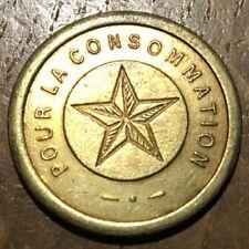 JETON POUR LA CONSOMMATION ÉTOILE (292)