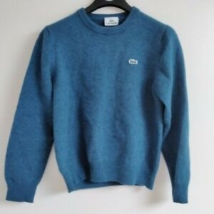 Lacoste Blue Jumper UK Size Small