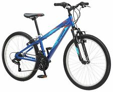 "24"" Mongoose Camrock Boy's Mountain Bike, Blue"