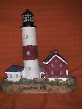 Montauk, Ny Lighthouse Figurine 5� Tall
