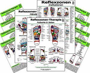 Reflexzonen-Set -professional- XL - ( 67 Karten-Set ! )