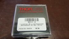 Thorlabs N414-A f = 3.30mm Na = 0.47 Unmounted Rochester Aspheric Lens 350-700nm