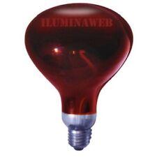 Estufa calefactor para Bombilla infrarrojos 250w portalamparas E27 Lampara calor