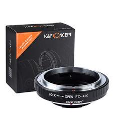 Canon FD Lens to Samsung NX Mount Adapter NX5 NX10 NX11 NX100 NX200 NX300 NX1000