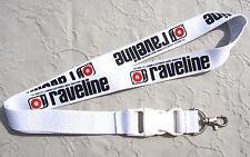 Raveline Electronic Music Magazine Schlüsselband Lanyard NEU (A53v)