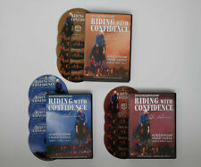Clinton Anderson RIDING WITH CONFIDENCE complete Series 1-3, 12 DVD`s