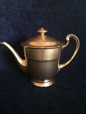 Pickard Gold Etched Coffee Pot